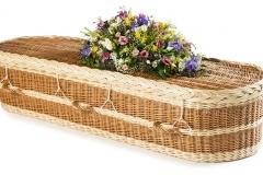 Woven Eco Coffin 18