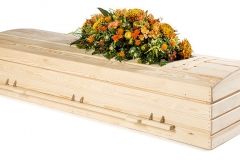 Wooden Eco Coffin