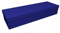 3821 - Royal blue square casket (CR-11)
