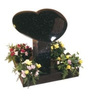 Star Galaxy Granite Heart