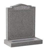 Churchyard & Marble Headstone