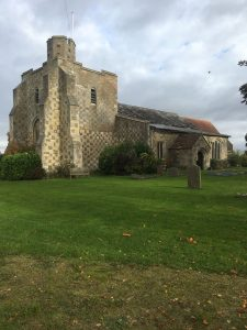 The pretty church at Chalgrave