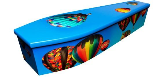 Hot Air Balloon Coffin