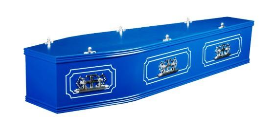 Blue Panelled