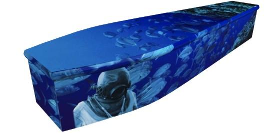 Deep Sea Diver Coffin