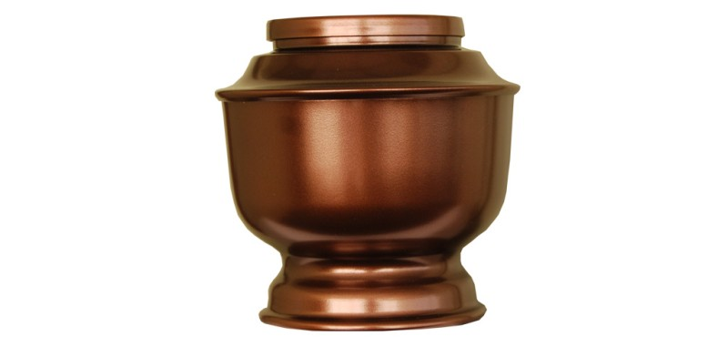 Bronze on Aluminium Urn