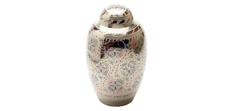 Farnham Flowers Ashes Urn