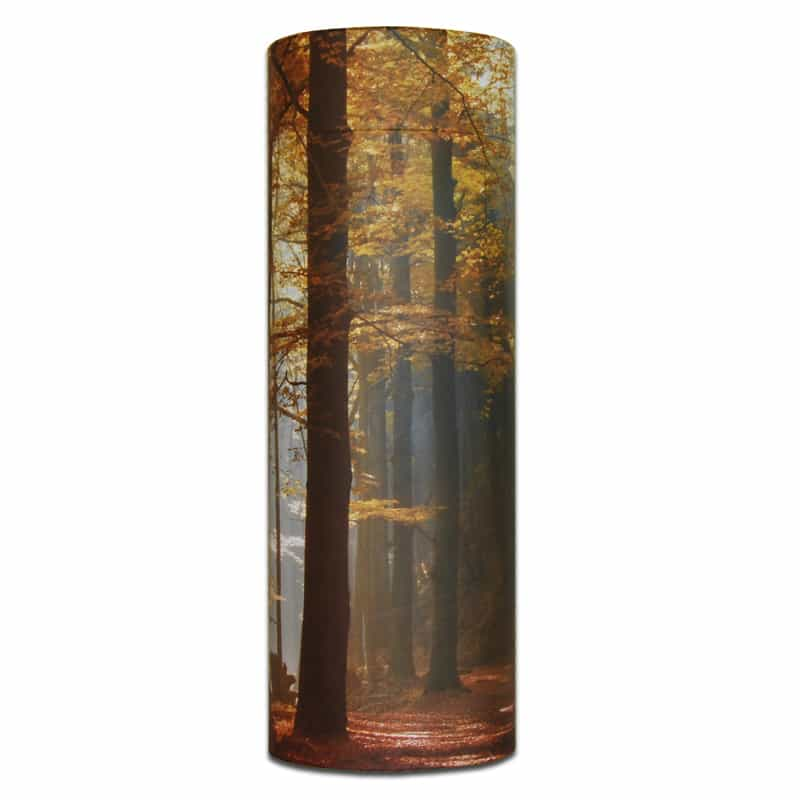 Ashes Scatter Tube - Autumn Wood