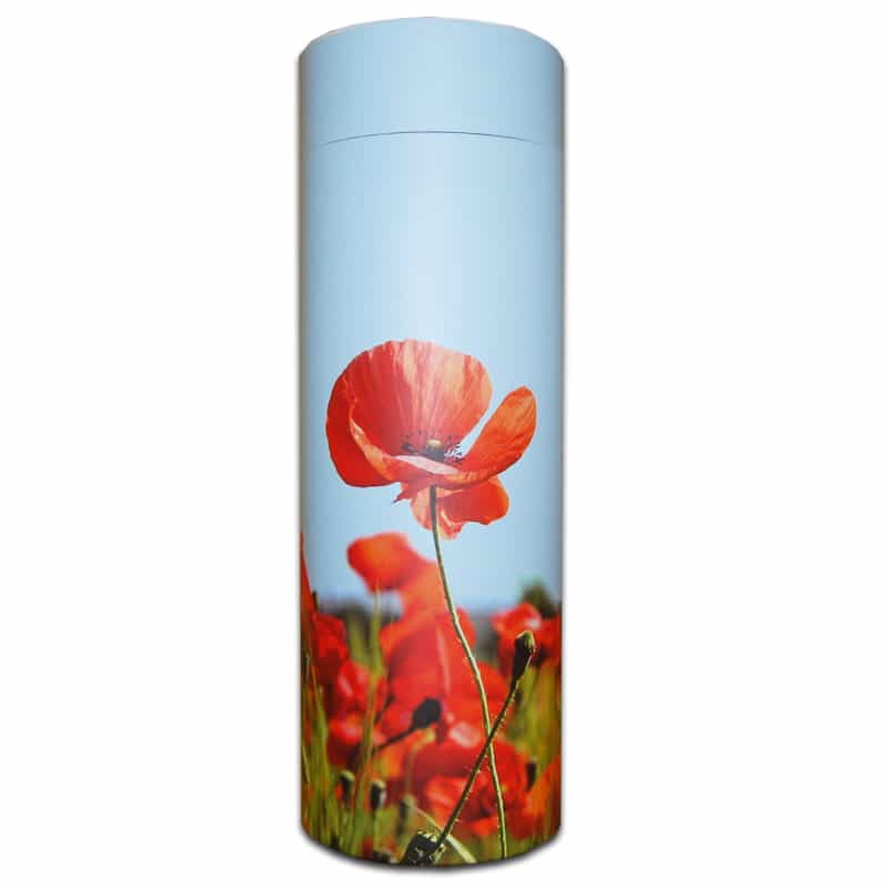 Scatter Tube - Poppies