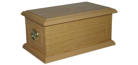 Surrey Ashes Casket 5 with Round Handles