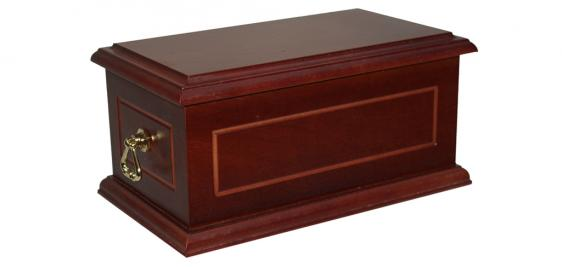 Surrey Ashes Casket 7 with Triangular Handles