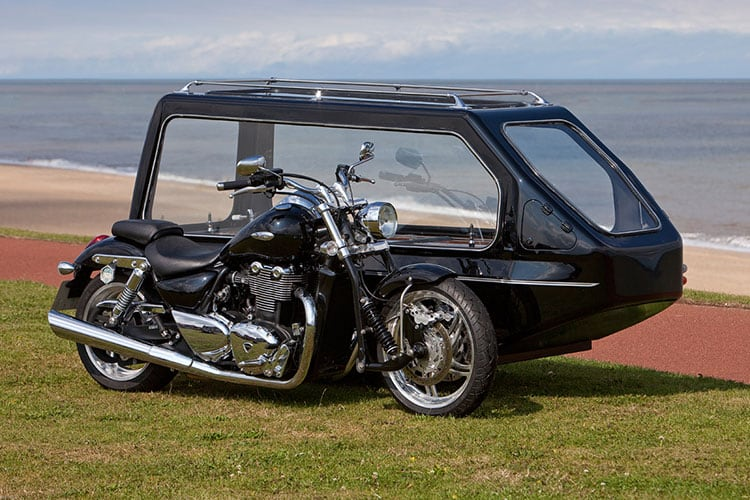 Motor cycle hearse 01