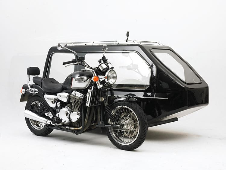 Motor cycle hearse 02
