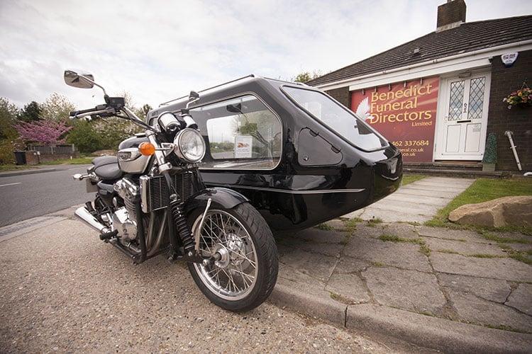 Motor cycle hearse 03